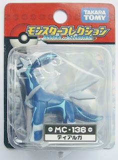 Dialga figure Takara Tomy Monster Collection MC series