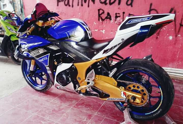 Modifikasi Fairing R25 Mirip Kawasaki H2R, Wah Bagaimana?