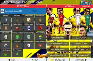 FTS 20 Mod Liga Indonesia 2020/2021