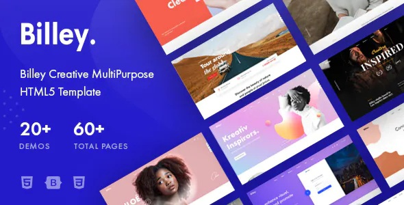 Best Multipurpose HTML5 Template