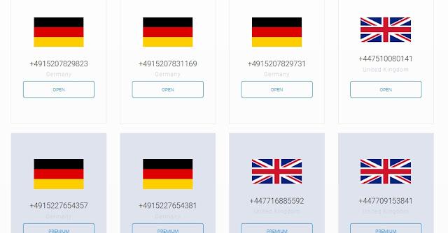 افضل مواقع ارقام وهمية لاستقبال الرسائل 2021