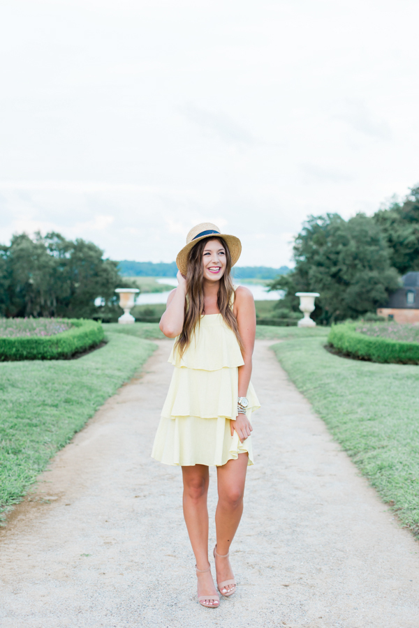 Affordable Tiered Dress | Chasing Cinderella