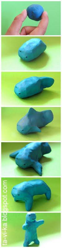 эволюция из пластилина