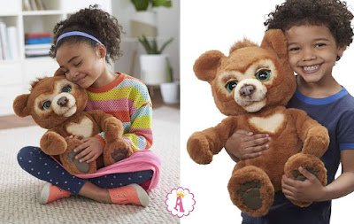 Медвежонок FurReal Friends Cubby The Curious Bear