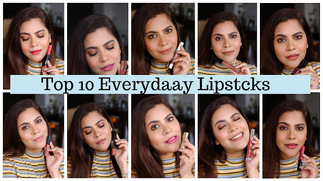 top 10 everyday lipsticks, best lipsticks for daily use for Indian Skintone, best everyday lipsticks, top lipsticks for Indian skintone, best brown lipsticks, best pink lipsticks, best nude lipsticks, lipdticks for collage, lipsticks for office, lipsticks for work, day time lipcolors, cheap lipsticks for everyday, cheap lipsticks india, indian makeup, nykaa , nykaa beauty, colorbar lipstick, nykaa olten matte lipstick, estee lauder lipgloss, best lipgloss, NYX soft matte lip cream, nykaa pout perfect lipstick, Hude beauty trendsetter, beauty , fashion,beauty and fashion,beauty blog, fashion blog , indian beauty blog,indian fashion blog, beauty and fashion blog, indian beauty and fashion blog, indian bloggers, indian beauty bloggers, indian fashion bloggers,indian bloggers online, top 10 indian bloggers, top indian bloggers,top 10 fashion bloggers, indian bloggers on blogspot,home remedies, how to