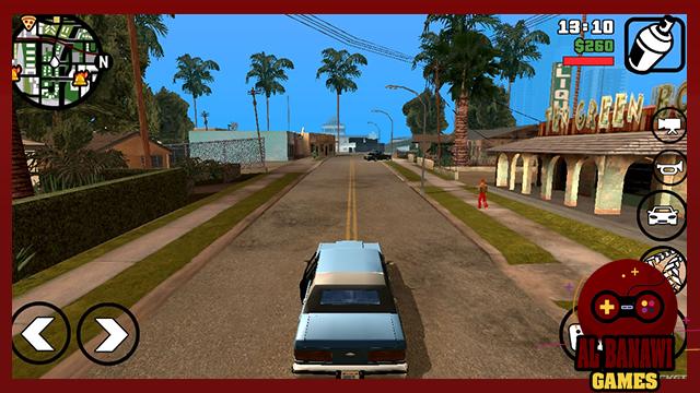 تحميل لعبة جاتا سان اندرس GTA San Andreas للاندرويد برابط مباشر من ميديا فاير