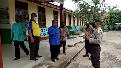 Operasi Bina kusuma Seligi 2020, Sat. Binmas Polres Lingga Melaksanakan Penyuluhan dan Himbauan