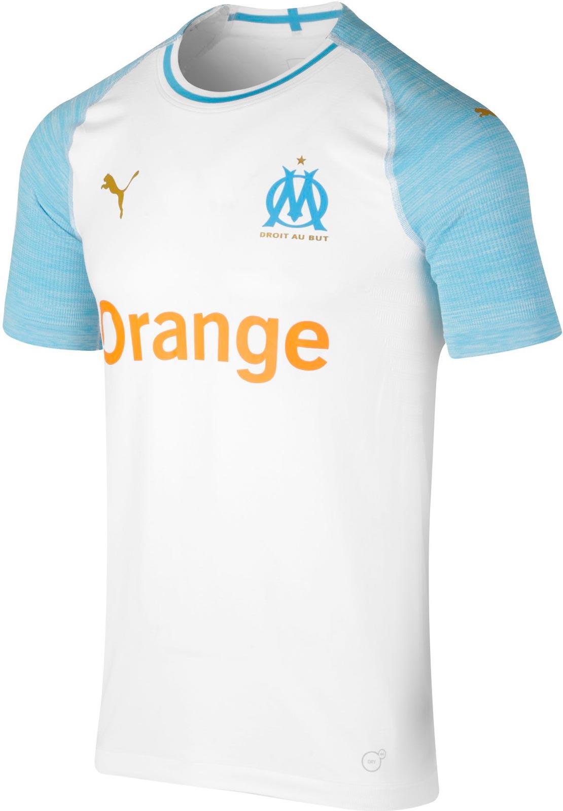 12b4639851f No More Adidas - Puma Olympique Marseille 18-19 Home