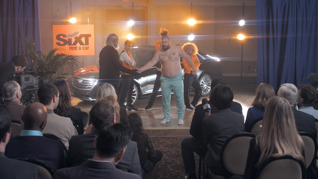 "Absurd New Political Spoof for Sixt in first US spot by Thjnk starring ""Rent is Too Damn High"" Spokesperson"