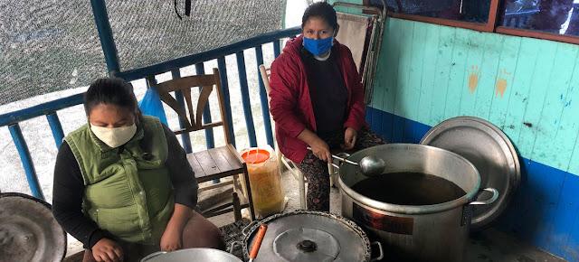 Cocina comunitaria en Perú.PMA/Guillermo Galdos