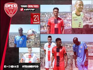 Dijon FCO 2020-2021 shirt