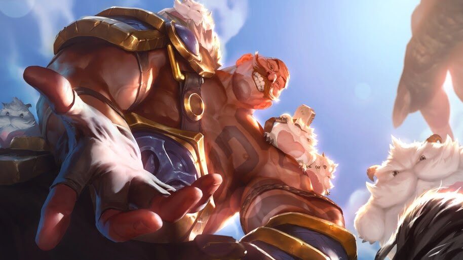 Braum, LoL, Legends of Runeterra, 4K, #4.1501