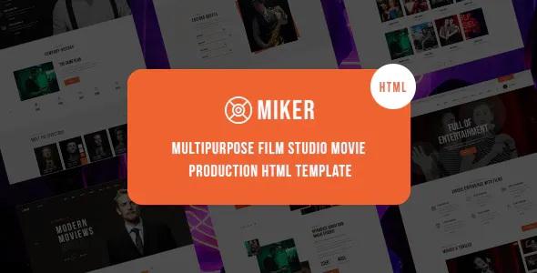 Best Movie and Film Studio Template