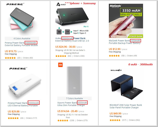 carregador portatil aliexpress shop online dicas