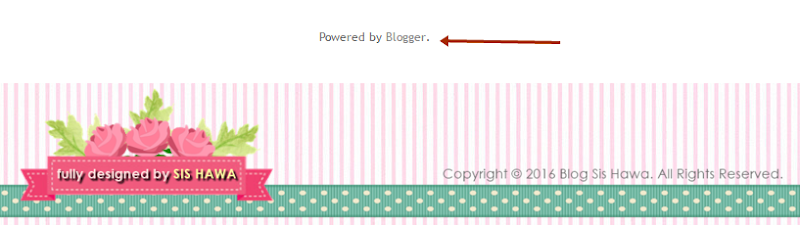 "Tutorial : Remove ""Powered by Blogger"" (Simple Template)"