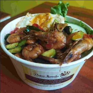 Malesmegawe - Rice Bowl Udang
