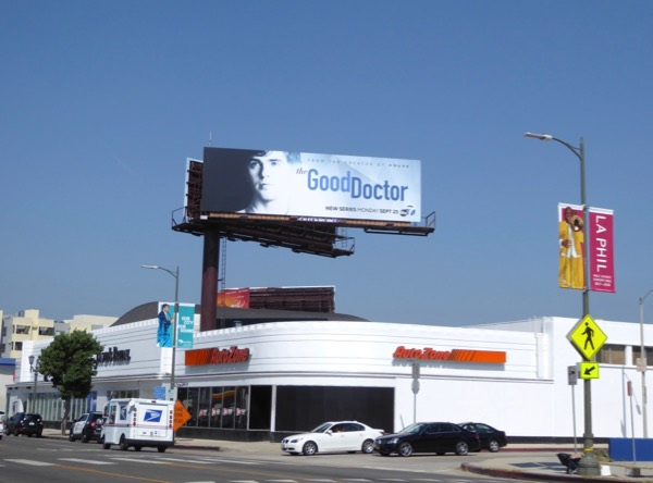 Good Doctor season 1 billboard