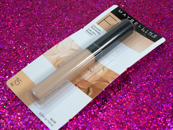 Maybelline Fit Me Concealer - Fair Swatches & Review