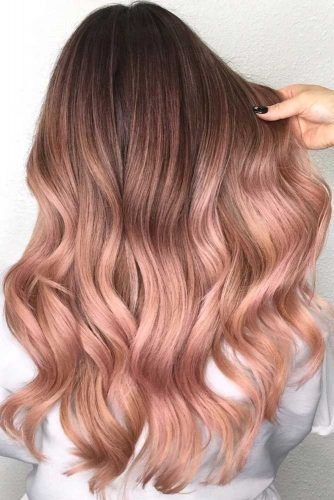 balayage - balayage rosado claro