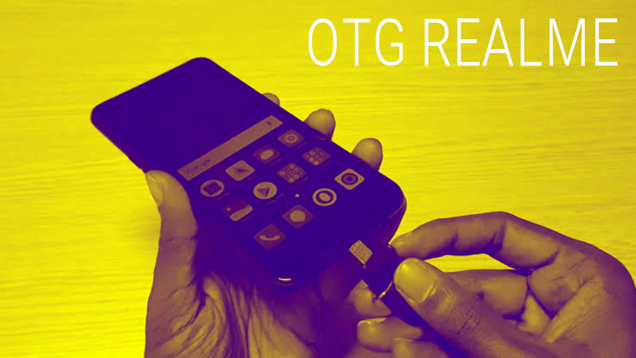 Cara Menggunakan OTG di Android Realme 5 Pro Terbaru