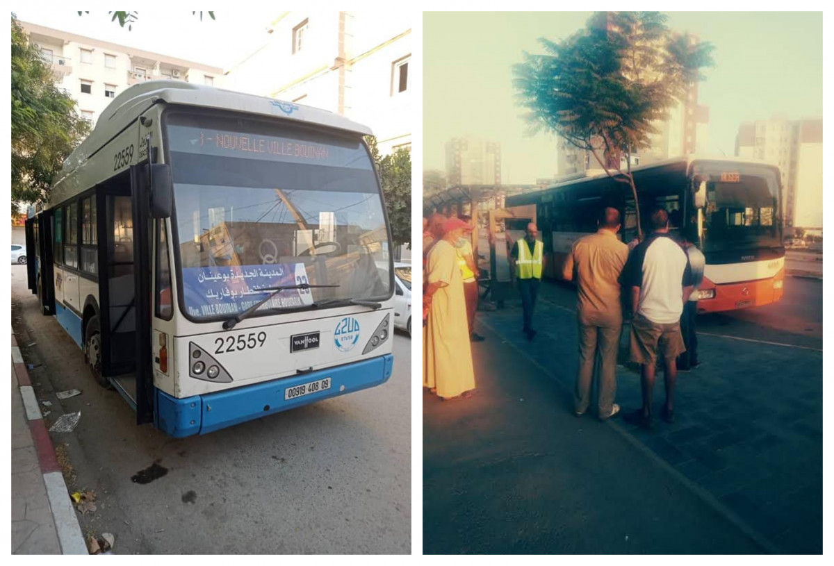 إطلاق خطين لنقل المسافرين على مستوى المدينة الجديدة لبوينان