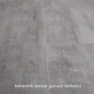 keramik lantai garasi terbaru