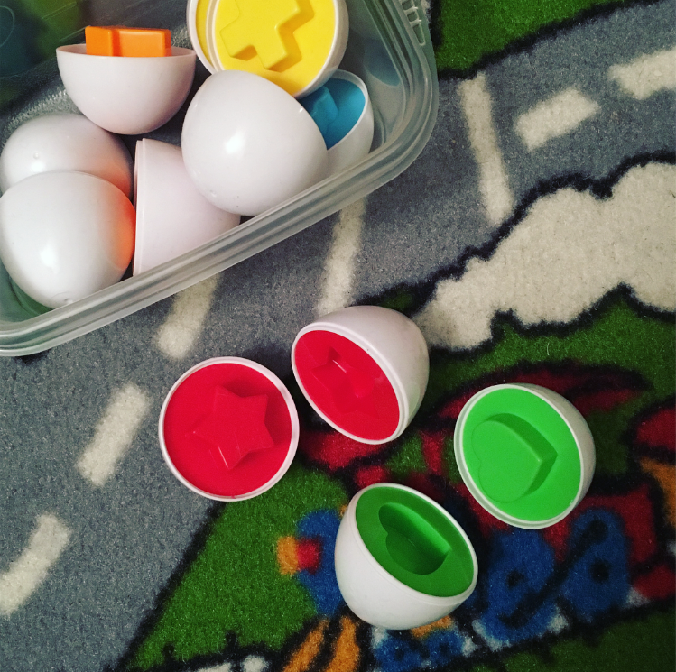 Matching Shapes & Colors Eggs Review