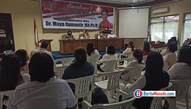 Maya Rumantir: Empat Pilar MPR RI Tetap Relevan