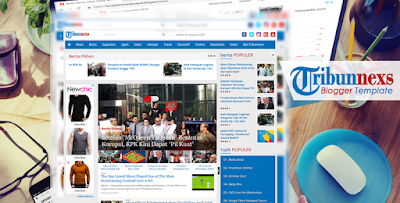 Template Blog Mirip Tribunnews
