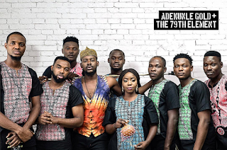 Photos as Adekunle Gold's unveils his Band 'The 79th Element' After YBNL Exit
