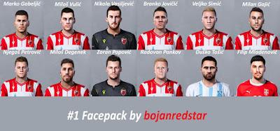 PES 2020 Facepack #1 by Bojanredstar