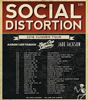 Social Distortion Summer 2018 Tour