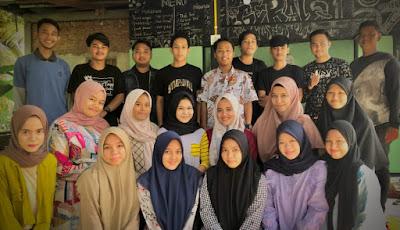 Mahasiswa Alam Panjang Launching Gerai 21