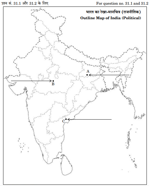 Map for Question 31