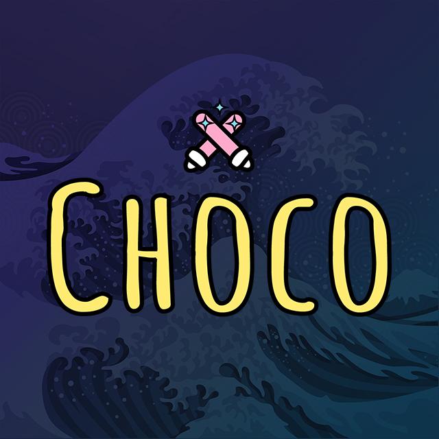 Imagen con el logotipo de Choco
