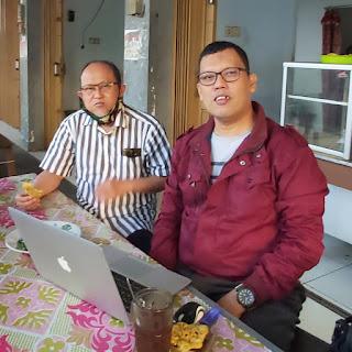 Ketua Dekopinda Banyumas dan Ketua Dekopinda Cilacap