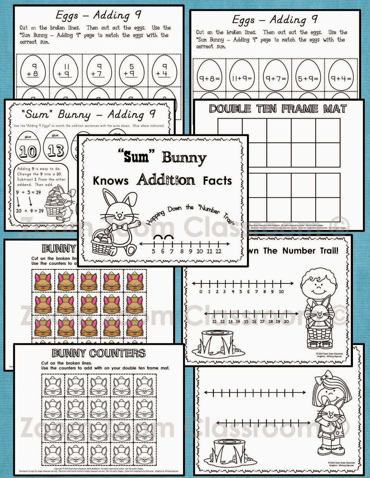 Lessons By Molly First Grade Adding Within Twenty Challenge