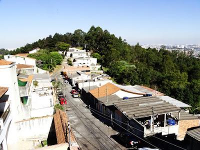 Parte da Vila Nova vista do andar de cima da casa de Moacir