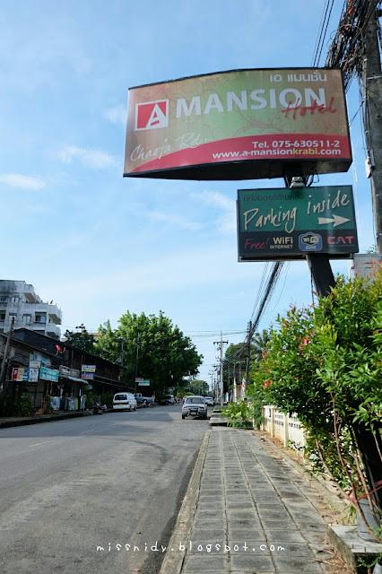 a mansion hotel krabi town