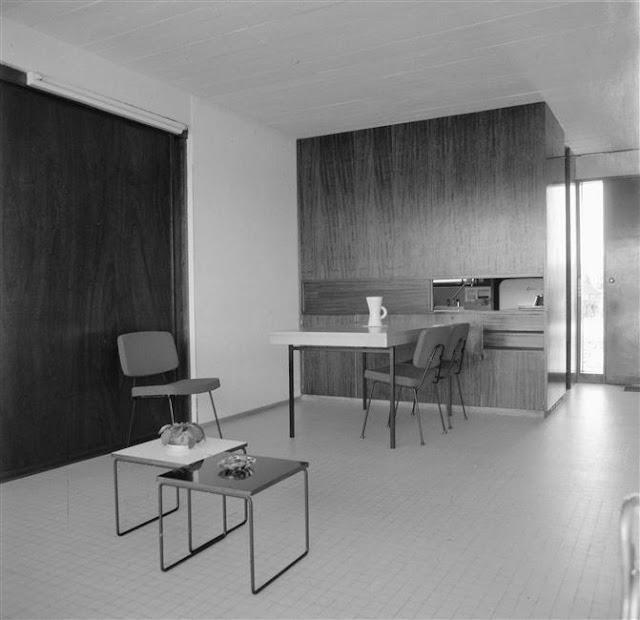 Intérieur de la maison Mex, André Wogensky.