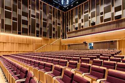 The new concert hall: Birmingham Conservatoire