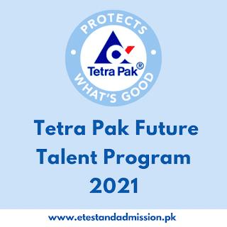 Tetra Pak Future Talent Program 2021