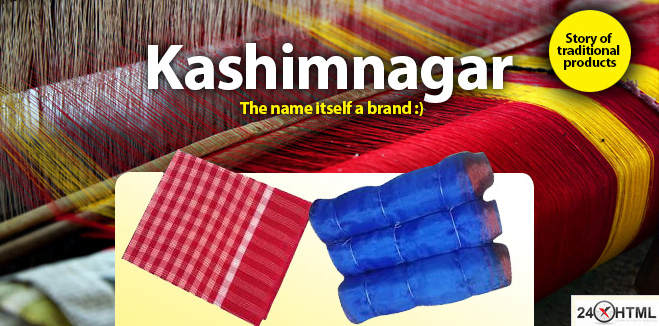 Kashimnagar - they sale gamcha and moshari, mosquiuto net