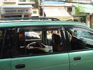 Faire une sieste dans la voiture