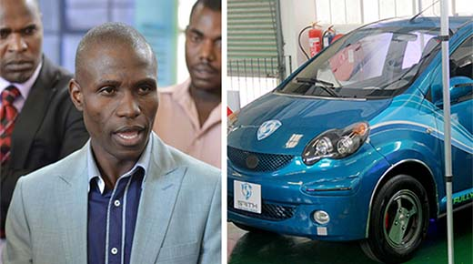 Hombre inventa un auto eléctrico que nunca necesita cargarse, luego él desaparece