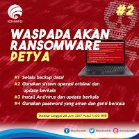 Petya, Sebuah Ransomware Baru yang Lebih Berbahaya Dibandingkan WannaCry