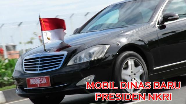 Mobil Dinas Baru Presiden dan Para Menteri