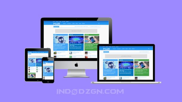 masign magz premium gratis, download template masign magz premium, template blogger premium gratis