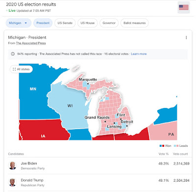 Wisconsin Election Fraud Map