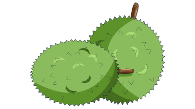 durian clipart free